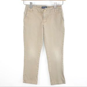 Ralph Lauren Girls Size 7 Khaki Colored Pants
